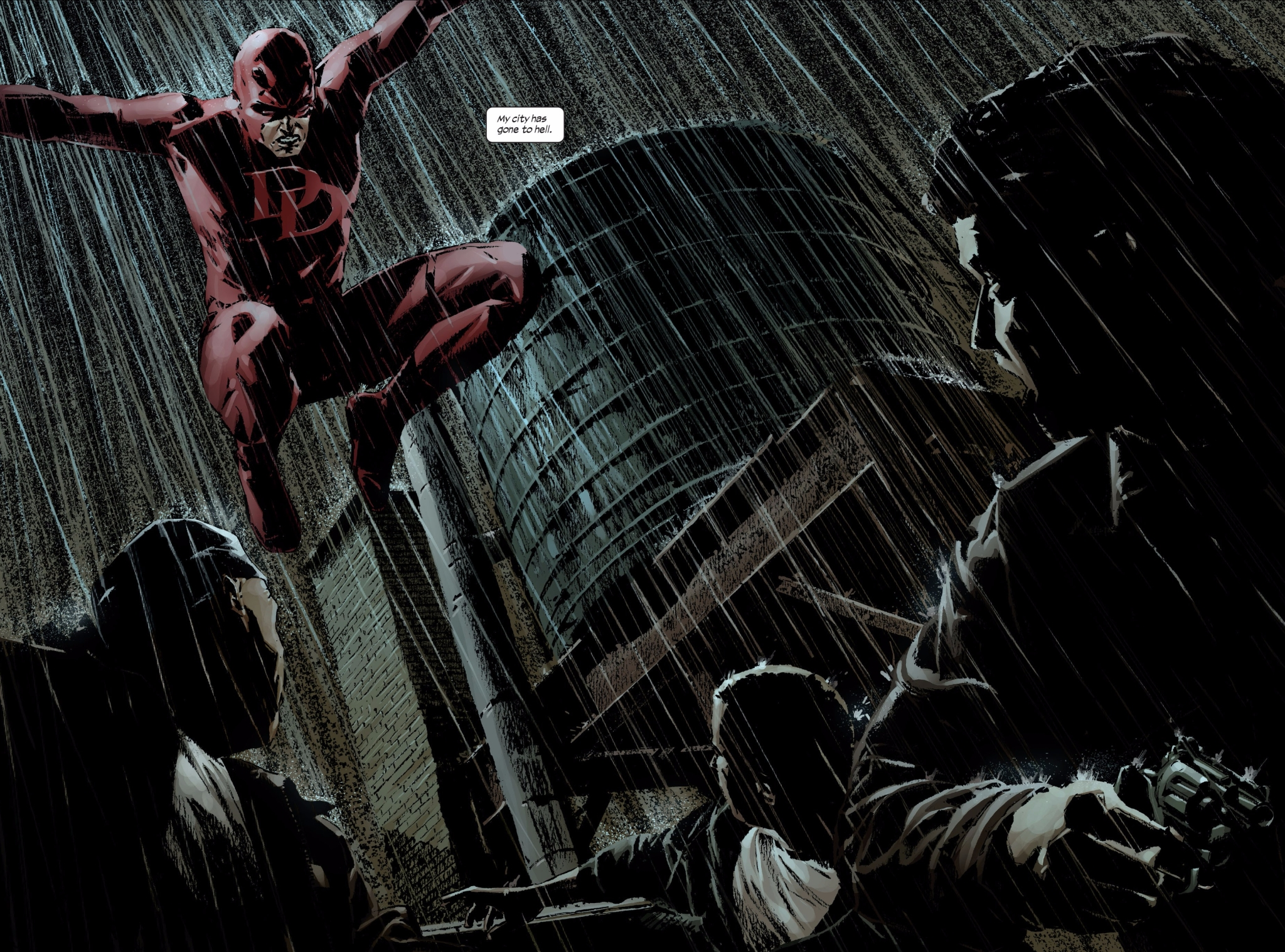 Daredevil by Brubaker and Lark